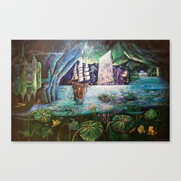 Lake Languish Canvas Print