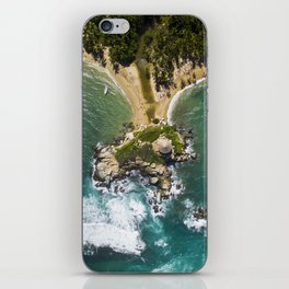 Parque Tayrona from Above iPhone Skin