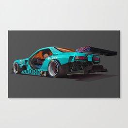 Tetsuo Shima's Rotary Racer Canvas Print