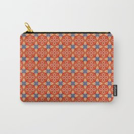 Moroccan Motet Pattern Carry-All Pouch