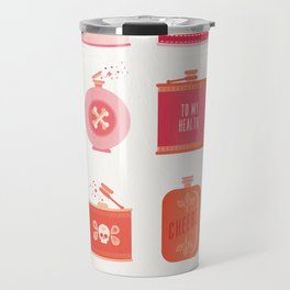 Flask Collection – Pink/Peach Ombré Palette Travel Mug
