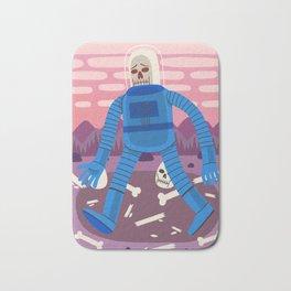 Sad Spaceman Bath Mat
