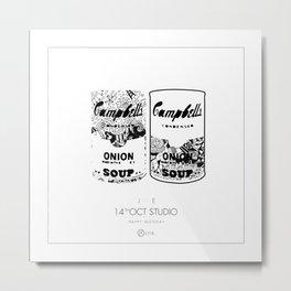 Campbell Soup Metal Print