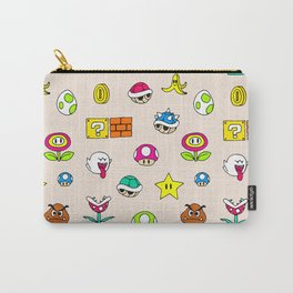 Mario pattern Carry-All Pouch