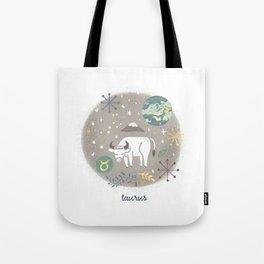 Taurus Earth Tote Bag