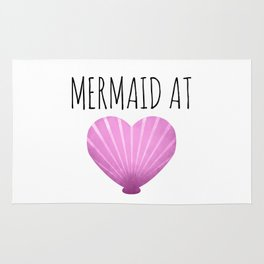 Mermaid At Heart Rug