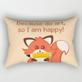 Commisions | foxy artist Rectangular Pillow