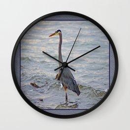 still here wading  Wall Clock
