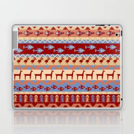Inca Animals Fish and Birds Pattern Laptop & iPad Skin