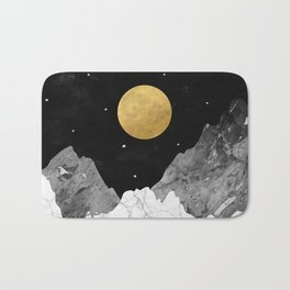 Moon and Stars Bath Mat