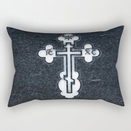 Russian Greek Orthodox Cross Rectangular Pillow