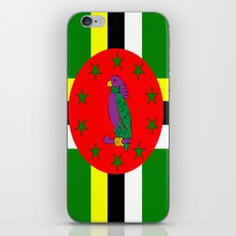 . Flag of Dominica iPhone Skin