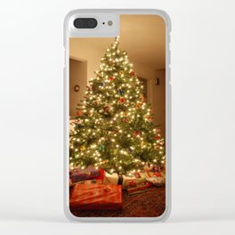 Christmas Tree - True Clear iPhone Case