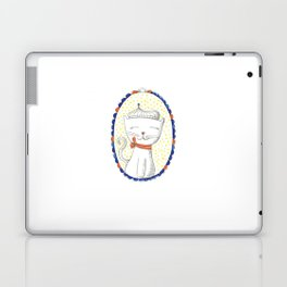 Cat and Frame Laptop & iPad Skin