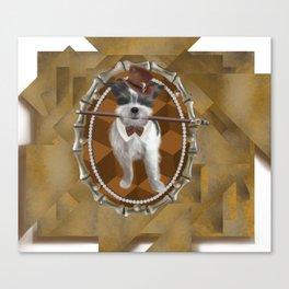 Steam Terrier Canvas Print