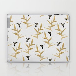 Hummingbird & Flower II Laptop & iPad Skin