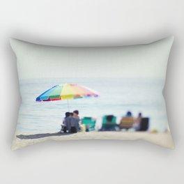 Day At the Beach Rectangular Pillow
