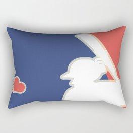 Major Heart League Rectangular Pillow
