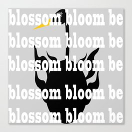 blossom bloom be Canvas Print