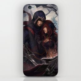 The House of Du Couteau iPhone Skin