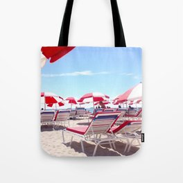 South Beach Umbrellas Tote Bag