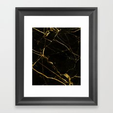 Black Beauty V2 #society6 #decor #buyart Framed Art Print