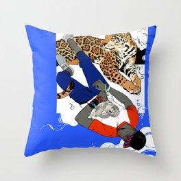 Bola & Jaguar Throw Pillow