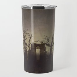 Abbey among Oak Trees Travel Mug