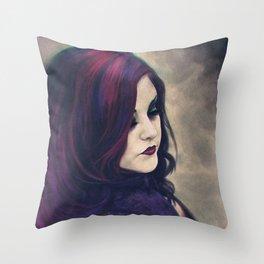 Corrine King Illustration Throw Pillow