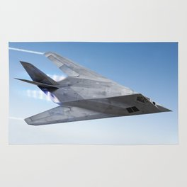Stealth aircraft F-117 Rug