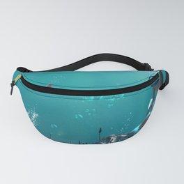 Underwater wonderf mermaid Fanny Pack
