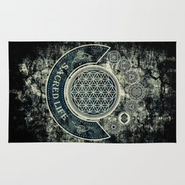 Sacred Geometry for your daily Life Rug