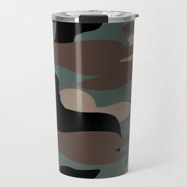 Camo Weiner Dogg Travel Mug