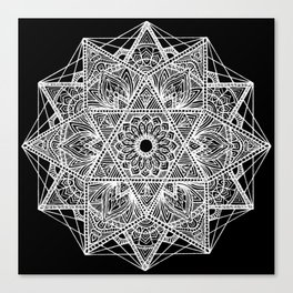 Untitled I (black) Canvas Print