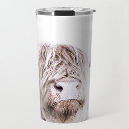 HIGHLAND CATTLE PORTRAIT Travel Mug
