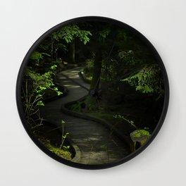 Path of Shadows Wall Clock