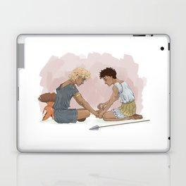 Achilles and Patroklos  Laptop & iPad Skin
