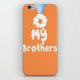 O My Brothers iPhone Skin