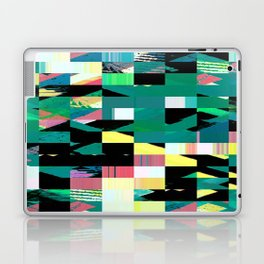 Pixel Dust Green  Laptop & iPad Skin
