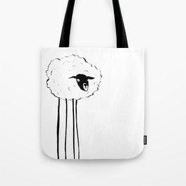 Creepy Sheep Tote Bag