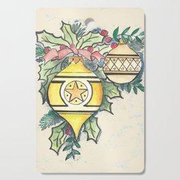 Evergreen and Gold III Cutting Board