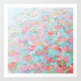 Arboretum Cherries Art Print