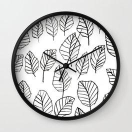 leaflines Wall Clock