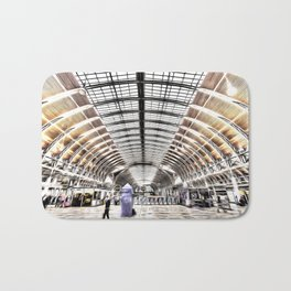 Paddington Railway Station London Bath Mat