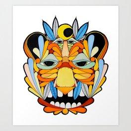 Ghostbear Art Print