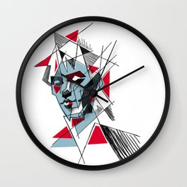 peter murphy 2 Wall Clock