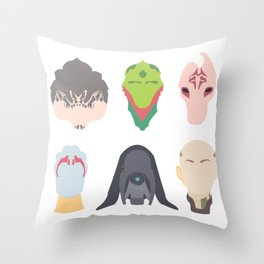 Choose Your Party No. 2 Throw Pillow
