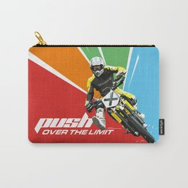 Motocross - Push Over The Limit Carry-All Pouch