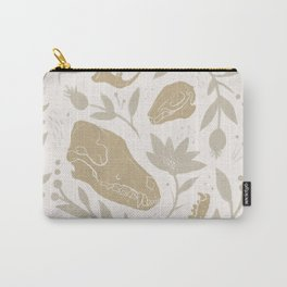 Forest Floor - Gold Carry-All Pouch