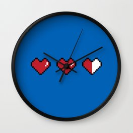 The Life of a Gamer Wall Clock